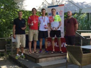 Siegerpodest Herren IWT German Open 2018